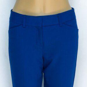 Express Editor Ankle Pants - Cobalt Blue